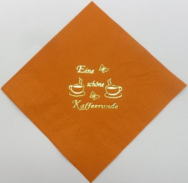 Eine schöne Kaffeerunde - Mandarine