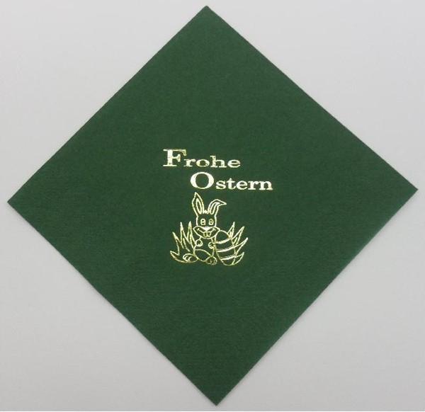 Frohe Ostern - Jägergrün