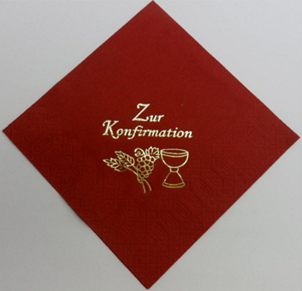 Zur Konfirmation - Bordeaux