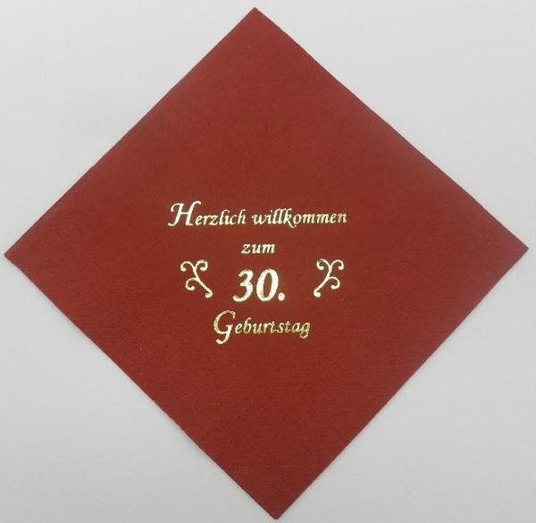 zum 30. Geburtstag - Bordeaux