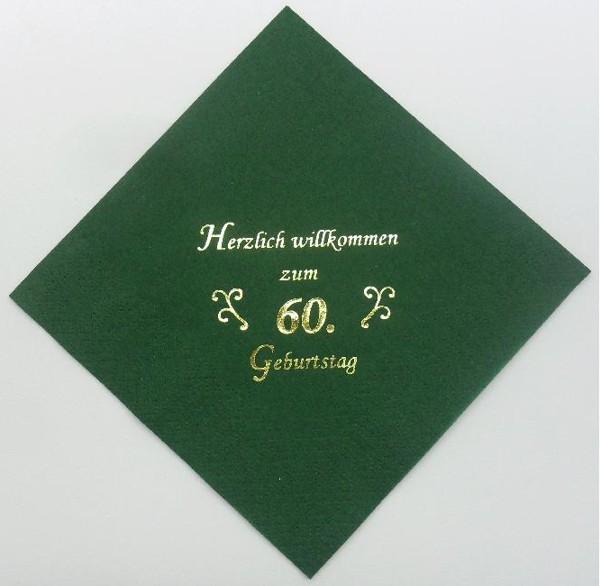 zum 60. Geburtstag - Jägergrün