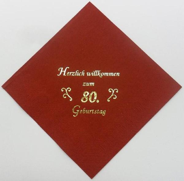 zum 80. Geburtstag - Bordeaux