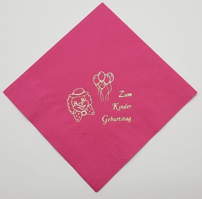 zum Kindergeburtstag - Pink